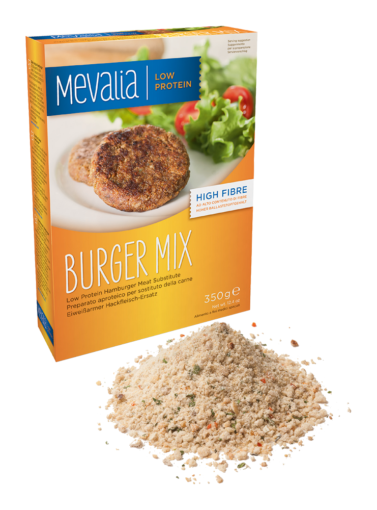 PKU Mevalia Burger mix, 350g